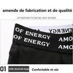Lanbaosi Pantalon 3/4 de Compression Sous-Vêtements Thermique Pour Homme Leggin de la marque LANBAOSI image 3 produit