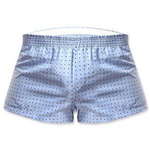 LaoZan Homme Casual Taille Basse Couleur Pure Respirant Boxer Briefs de la marque LaoZan image 0 produit