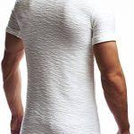 LEIF NELSON hommes oversize T-Shirt Hoodie Sweatshirt col rond encolure Manche courte Longsleeve Top Basic Shirt Crew Neck Vintage Sweatshirt LN6324 de la marque LEIF NELSON image 2 produit