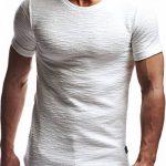 LEIF NELSON hommes oversize T-Shirt Hoodie Sweatshirt col rond encolure Manche courte Longsleeve Top Basic Shirt Crew Neck Vintage Sweatshirt LN6324 de la marque LEIF NELSON image 1 produit