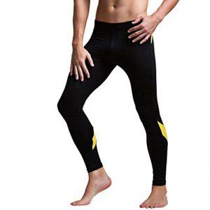 Longue Pantalons Thermique Patchwork Faible Hommes, QinMM Mode Slim Sous-pantalon Survêtement Sport Hausse Leggings Long Chaude Souple Bas Caleçons de la marque QinMM image 0 produit