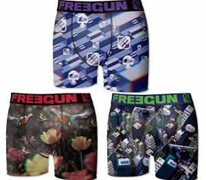 Lot 3 Boxers Freegun Collection de la marque Freegun image 0 produit
