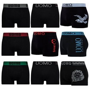 Lot de 5/10 L&K Boxers Seamless microfibre - Homme - YHUVA3 de la marque LK image 0 produit