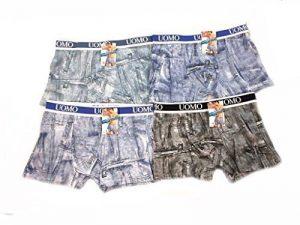 Lot de 6 Boxers Jeans Homme UOMO Couleurs Assorties !!! B049 de la marque Uomo image 0 produit