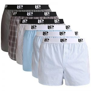 Lower East Boxers américains pour hommes avec une taille élastiquée, lot de6 de la marque Lower East image 0 produit