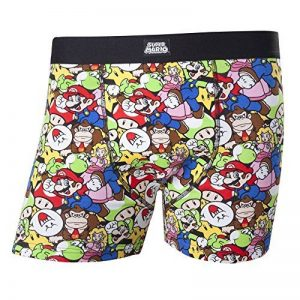 Meroncourt Nintendo Super Bros. Mario & Friends Shorts, Boxer Homme de la marque Meroncourt image 0 produit