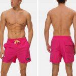 Minetom Homme Shorts Bermuda Pantalon Courts Casual Mode D'Été Printemps Main De Bain Séchage Rapide Shorts De Sport Plage Natation Boxer de la marque Minetom image 2 produit