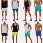 Minetom Homme Shorts Bermuda Pantalon Courts Casual Mode D'Été Printemps Main De Bain Séchage Rapide Shorts De Sport Plage Natation Boxer de la marque Minetom image 4 produit