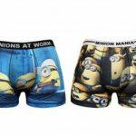 Minions Boxer Homme Marvel 95% Polyester 5% Elasthane de la marque MINIONS image 1 produit