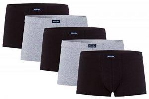 mioralini Pack de 5 Boxer - Pantalon - Shorts rétro pour la homme 95% coton 5% élasthanne de la marque MioRalini image 0 produit