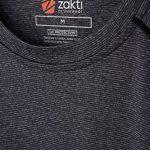 Mountain Warehouse Mens IsoCool Agra rayé Tee - UPF30 + UV Protection Shirt, Tshirt léger, rapide sèche, perméable à l'air Top - pour une utilisation itinérante, randon de la marque Mountain Warehouse image 4 produit