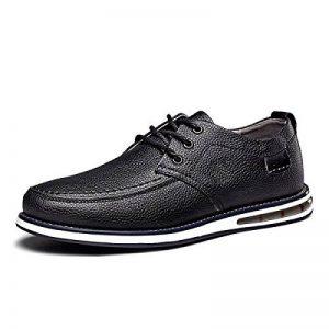 MUYII Hommes Oxfords Cuir Chaussures Habillées Classique Casual Lace Up Hommes Non-Slip Chaussures Confortables Chaussures D'affaires Pour Hommes de la marque MUYII image 0 produit