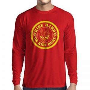 N4688L T-shirt à manches longues Ride Hard! Biker clothing de la marque lepni-me image 0 produit