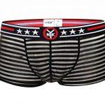 Neiyiku Boxer Homme Sexy Transparent Short Respirant avec Rayures et Etoiles à Taille Basse Confortable Taille 36-42 de la marque Neiyiku image 0 produit