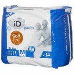 Ontex Id Pants Plus Taille M Pack 14 Incontinence Protection pour Adulte de la marque ONTEX image 1 produit
