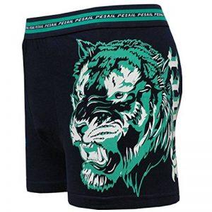 PESAIL Boxer Caleçons Homme Tigre Animal Imprimé Sous-vêtements en Coton Taille M L XL XXL XXXL Lot de 2 4 5 6 de la marque Topgoods2016 image 0 produit