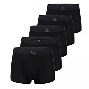 Pinkpum Boxer Lot de 5 Homme Invisible Underwear en Modal Uni Microfibre Sous-Vêtement Ultra Doux et Confortale de la marque Pinkpum image 0 produit