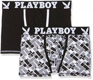 Playboy Classic Cool, Shorty Homme (lot de 2) de la marque Playboy image 0 produit