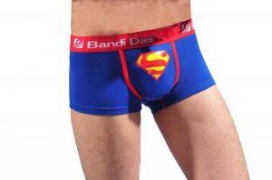 Pobofashion Monsieur coréenne style sous-vêtements boxers Lycra et coton avec Superman printmu Ster de la marque Pobofashion image 0 produit