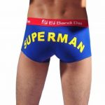 Pobofashion Monsieur coréenne style sous-vêtements boxers Lycra et coton avec Superman printmu Ster de la marque Pobofashion image 1 produit