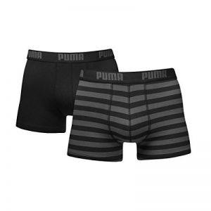 Puma 651001001 - Boxer - À rayures - Homme de la marque Puma image 0 produit