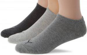 Puma invisble - Chaussettes de sport - Mixte adulte - Lot de 3 de la marque Puma image 0 produit