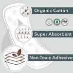 Rael 100% coton bio Regular unités–non parfumées Protections hygiéniques–Naturelle protège-slips Quotidiennes de la marque Rael image 1 produit
