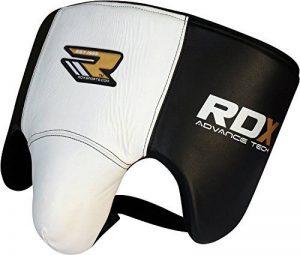 RDX Coquille Boxe Cuir Vachette Sports Protection Arts Martiaux Kick Boxing Suspensoir Muay Thai (CE Certifié Approuvé par SATRA) de la marque RDX image 0 produit