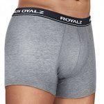 ROYALZ Lot de 5 Boxer homme sous vêtement caleçon - 95% coton 5% elasthanne de la marque ROYALZ image 2 produit