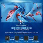 sankill Shorts de plage à séchage rapide pour les hommes Flamingo et ananas Graphique de la marque sankill image 3 produit