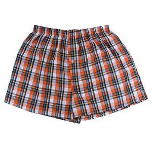 Sevenwell Hommes Imprimé Grille De Coton Pur Plat Boxer Respirant Shorts Sous-Vêtements M-2XL de la marque SEVENWELL image 0 produit