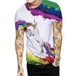 SEVENWELL Unisexe 3D Creative T-Shirts Imprimés T-Shirts Manches Courtes Réaliste Imprimé Digital Tops M-XL de la marque SEVENWELL image 1 produit