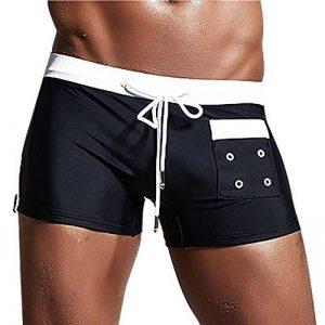 Shorts de Bain Taille Basse,OverDose Été Homme Sexy Maillots de Bain Tongs Vêtements de Plage Slim Slips de la marque OVERDOSE image 0 produit