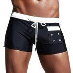 Shorts de Bain Taille Basse,OverDose Été Homme Sexy Maillots de Bain Tongs Vêtements de Plage Slim Slips de la marque OVERDOSE image 1 produit