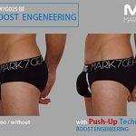 Sous-vêtement Homme, Mark7Gear TYRON - noir - Slip avec Boost Engeneering (PUSH-UP) de la marque Mark7Gear image 4 produit