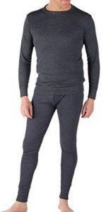 Sous-Vêtements Thermique (Maillot de Corps Manches Longues et Long Caleçon) Pour Homme - Jean/Blanc de la marque RP Thermals image 0 produit