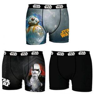 Star Wars Boxer, Shorty Homme (lot de 3) de la marque Star Wars image 0 produit