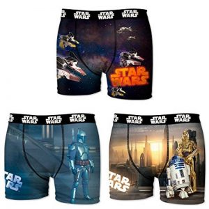 Star Wars Boxer, Shorty Homme (lot de 3) de la marque Star Wars image 0 produit