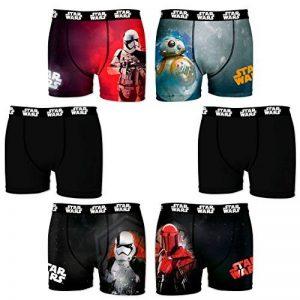 Star Wars - Lot de 6 boxers homme de la marque Star Wars image 0 produit