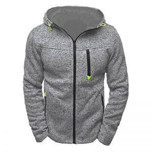 Sweat-shirts , Tefamore Hommes Hoody Hoodies Slim Zipper Veste Manteau de la marque Tefamore image 0 produit