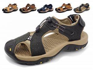 Été Nouveaux extérieurs Fisherman Beach Leather Chaussures décontractées Cuir respirant Baotou sans glissement Sandales de randonnée de la marque Lijeer image 0 produit