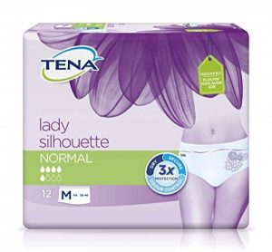 Tena Silhouette - Sous-vetement absorbant - Normal Medium Pack 12 de la marque TENA image 0 produit