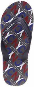 Tommy Hilfiger City Print Beach Sandal, Tongs Homme de la marque Tommy Hilfiger image 0 produit