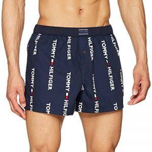 Tommy Hilfiger Woven Allover Logo, Boxer Homme de la marque Tommy Hilfiger image 0 produit