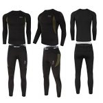 Uniquebella Ensemble de Sous-Vêtement Thermique Homme Maillot manches longues + Pantalon de la marque UNIQUEBELLA image 3 produit