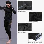 Uniquebella Ensemble de Sous-Vêtement Thermique Homme Maillot manches longues + Pantalon de la marque UNIQUEBELLA image 5 produit