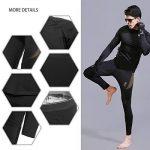 Uniquebella Ensemble de Sous-Vêtement Thermique Homme Maillot manches longues + Pantalon de la marque UNIQUEBELLA image 6 produit