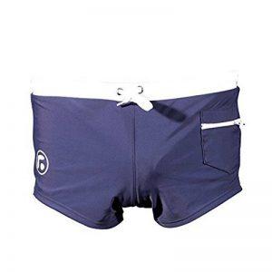 URAQT Homme Slip de Bain, Maillot De Bain,Short de bain, avec avant Tie pour Plage/Sport/Natation/Plongée de la marque URAQT image 0 produit