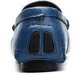 Vilocy Hommes Décontractée Conduite Bateau Chaussures Carré dans le Doux Cuir Caleçon Sur Flâneurs Mocassins de la marque Vilocy image 3 produit