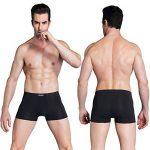wirarpa Calecon Homme Coton Lot de 4 Sous Vetement Homme Slip Boxer Shorts Extensibles de la marque wirarpa image 5 produit